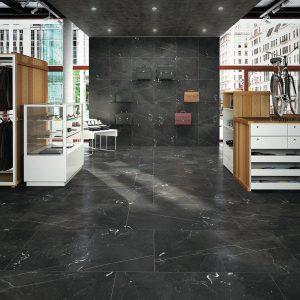 Phối cảnh gạch lát nền Indonesia Niro Granite 60x60 GIP07