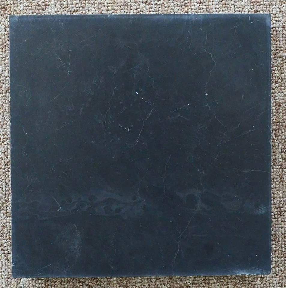 Đá xanh đen mài thô tinh