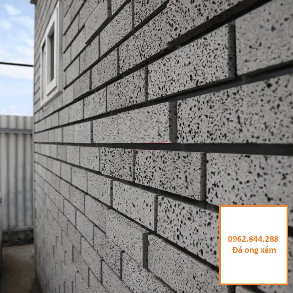 Đá ong xám ốp tường 10x30x1,2