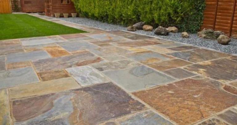 kích thước đá lát sân vườn