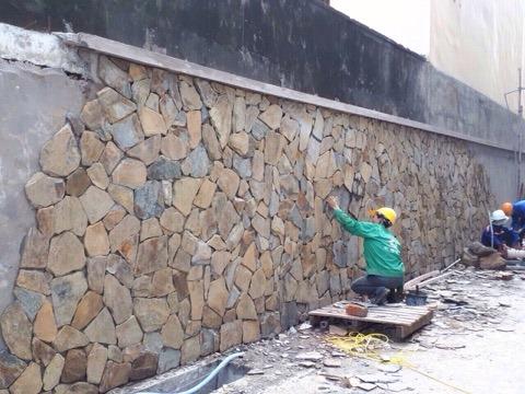 thi công đá rối